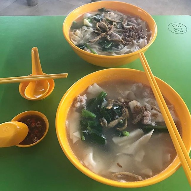 Back here for ban mian and mee hoon kuay.