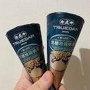 Bubble tea ice cream 🍦.