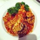 Chili Crayfish & Crab Linguine