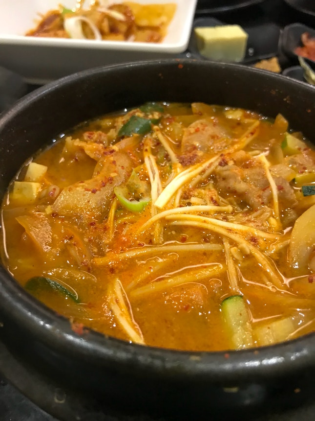Soybean Stew With Beef