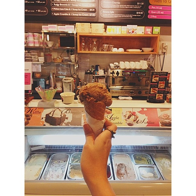 #foodporn #dessert #icecream #darkside #coffee #chocolate and #stout