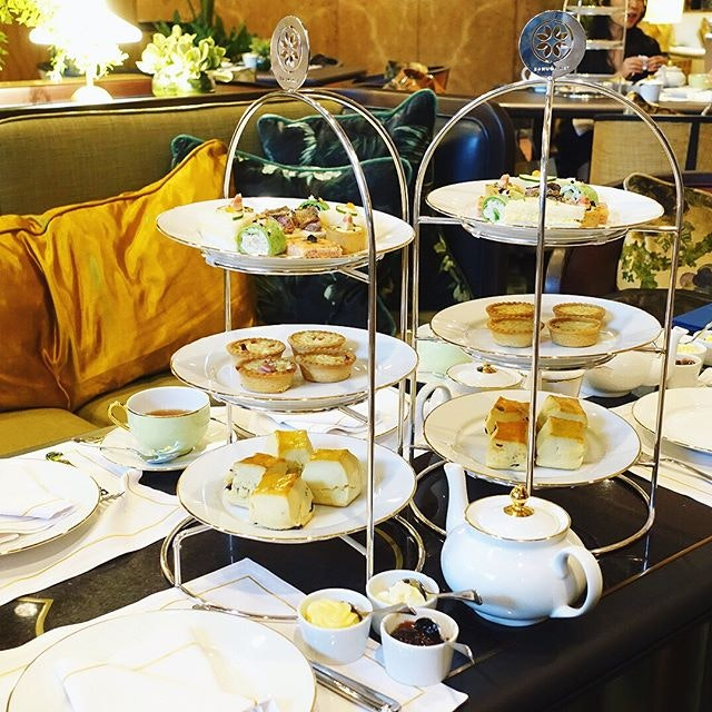 New Post- A three-tiered afternoon tea affair at the revamped Tea Lounge @regentsingapore Still loving their scones, not too much their mini savories.