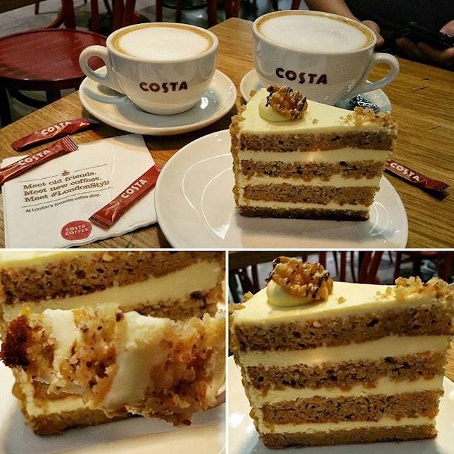 Coffee from Costa Coffee.