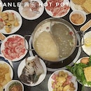 Throwback to my family gathering at MANLE 满乐 Hot Pot Buffet.