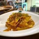 Pappardelle with duck ragout!