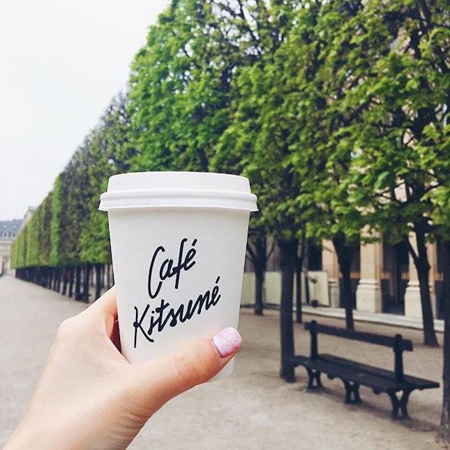 Coffee run on a fine weather morning.