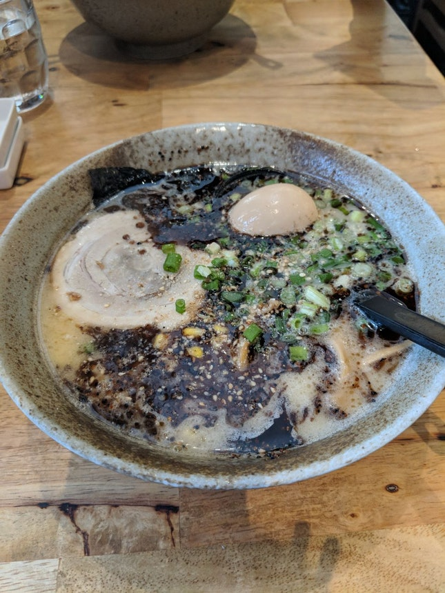 Miharu Black Garlic Japanese Ramen