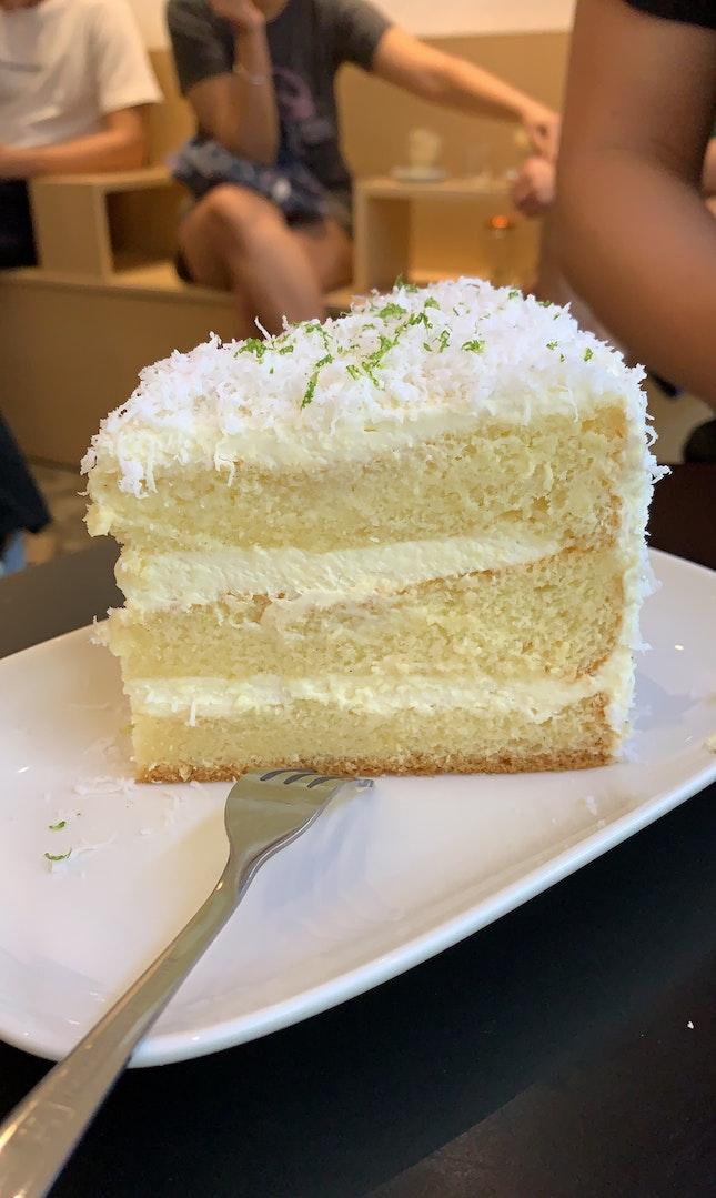 Yuzu Coconut Cake