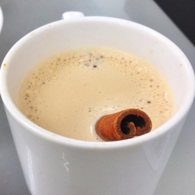 Cinnamon Tea @D'Ros Cafe