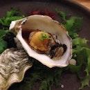 Oyster w/ foie gras&uni @ Fillets, Portico, Langsuan