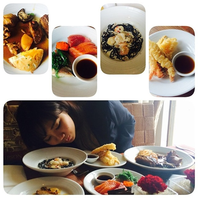 Lunch time ~ #food all I can eat 😍😍😍