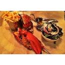 Half burger half lobster 🍔#foodporn