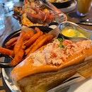 Lobster Roll & Grilled Lobster