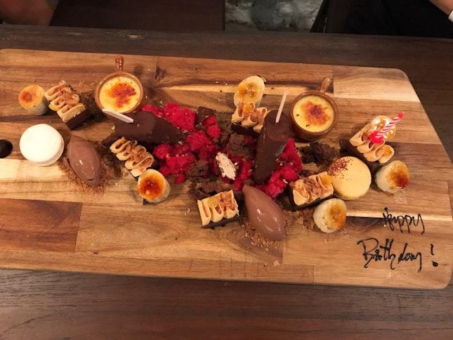 Dessert Platter ($48++)