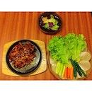 Gojuchang samgyeopsal 🍖#pork #korean #food #grilled #instafood #squaready