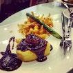 scallop Beancurd With Mushroom N Asparagus