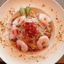 Thai prawn vermicelli 🍴 #officeouting #roomservicesg  #azúcar #yummyinmytummy #burpple #nofilter