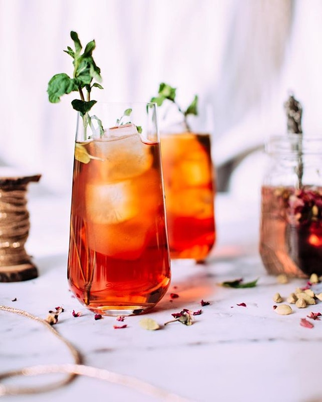 An invigorating iced-tea on a hot, humid day can do wonders for your mind, body and soul.