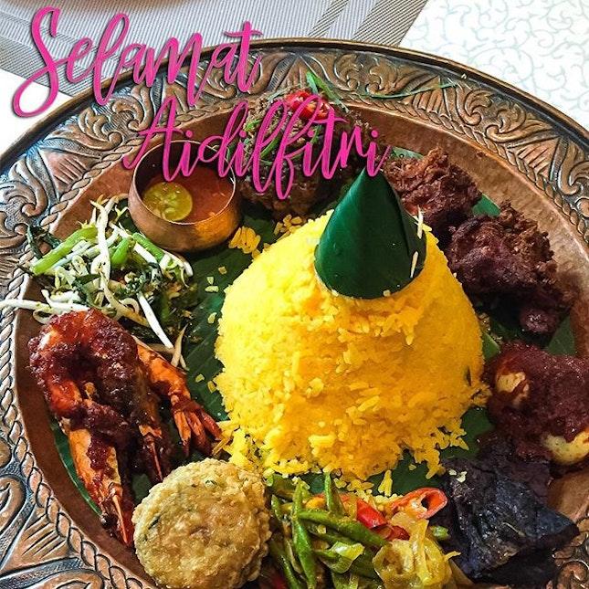 Wishing all our Muslim friends a very scrumptious Selamat Aidilfitri!