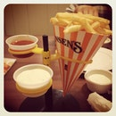 #swensens #fries #cone #food #love #instadaily #instalove #picoftheday
