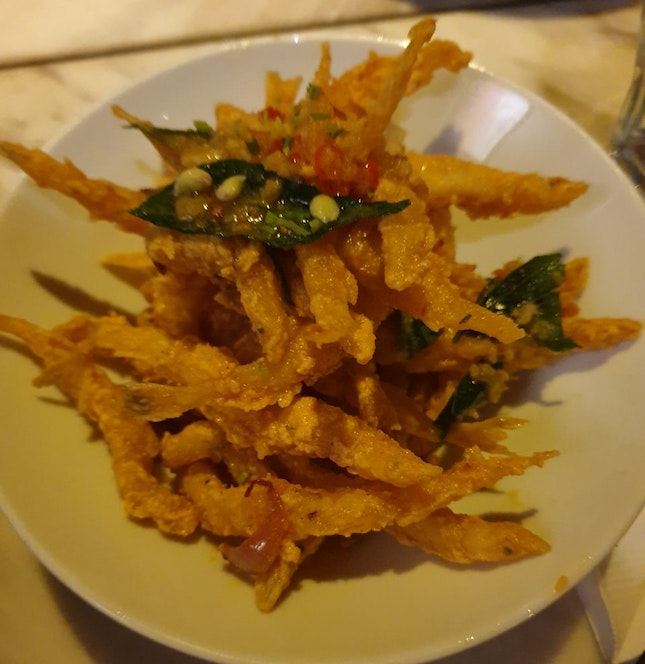Salted Egg Small Fish