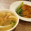 Wanton Noodle 虾籽云吞捞面