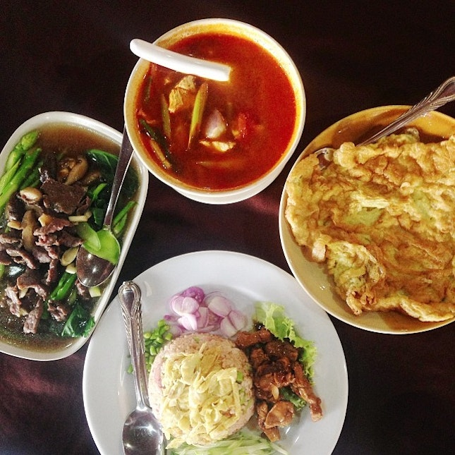 Thai food for lunch..