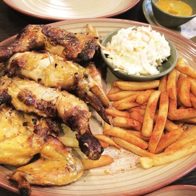 #chicken #fries #coslaw #dinner #foodie #foodporn #nomnomnom