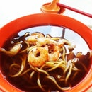 Lunch prawn noodle #lunch #food