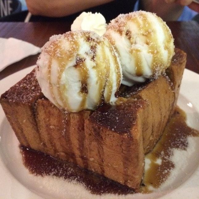 Gula Melaka Coconut Toast