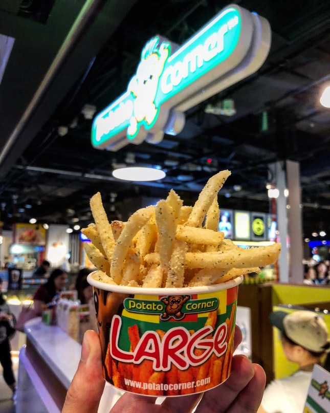 Sour Cream & Onion Fries (Large Cup)