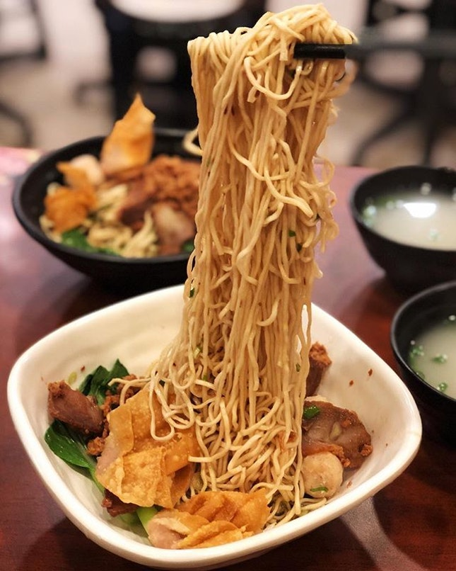 When you call yourself QQ Noodle house, you would expect their noodles to be really springy...