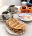 Kaya Toast Set ($4.70)