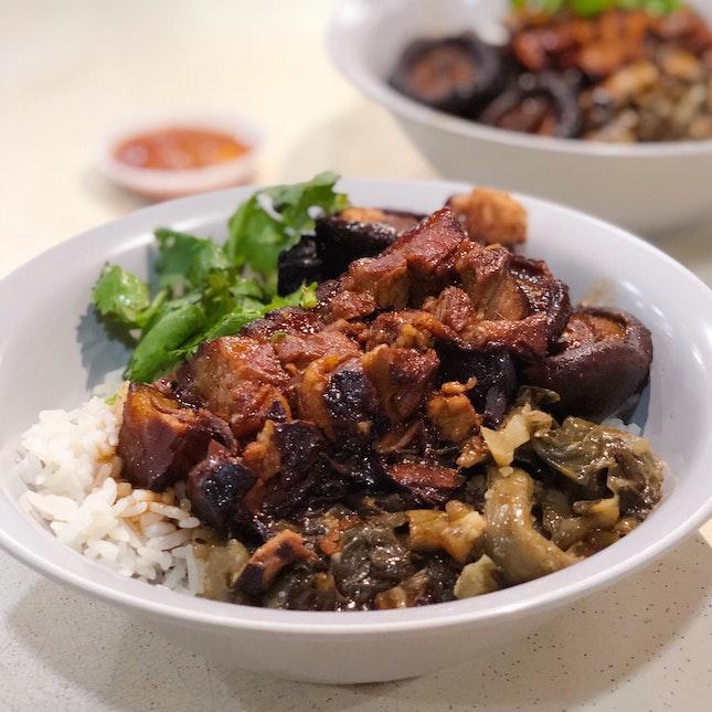 Braised Pork Rice ($4)
