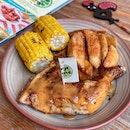 1/4 Chicken + 2 Sides ($13.90)