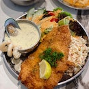 Fish and Chips with Alscampi Sauce ($16.90)