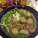 Special Beef Noodle Soup ($7)