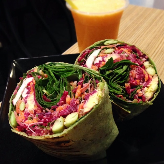Not Strictly A Sandwich But It's Goodness Wrapped Up ($8.90 for a make-your-own)