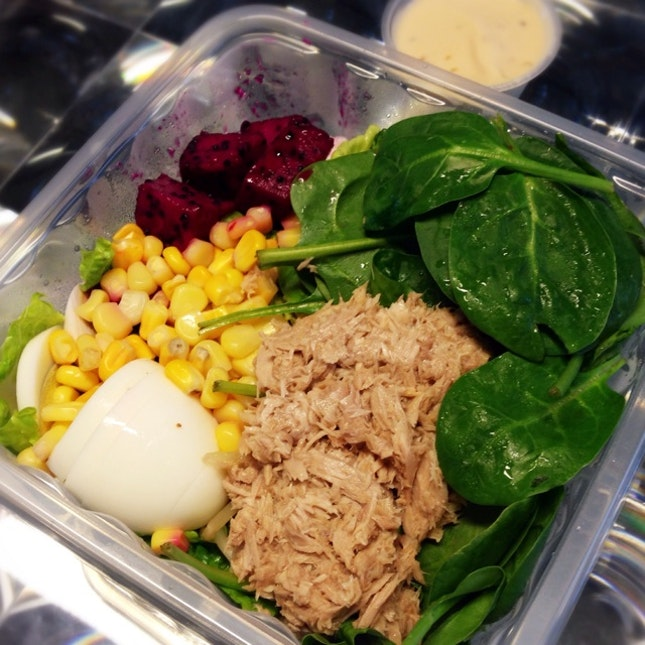My Takeaway Lunch from The Salad Bar ($5.80)