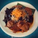 Nasi Rawon - A Tradtional Dish from Surabaya ($3.50)