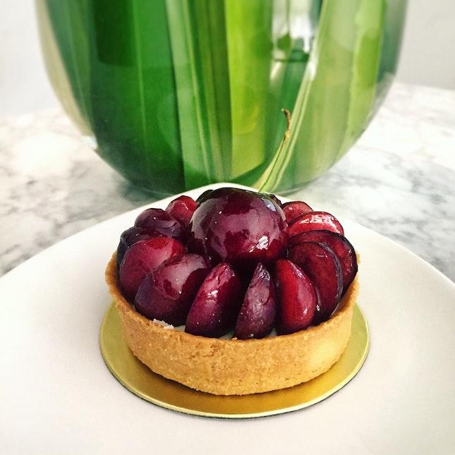 Seasonal Cherry Tart