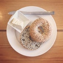 Sesame & Onion Bagel