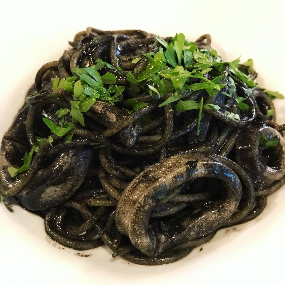 Grand Opening Promotional Lunch Menu: Ikasumi ($14++)