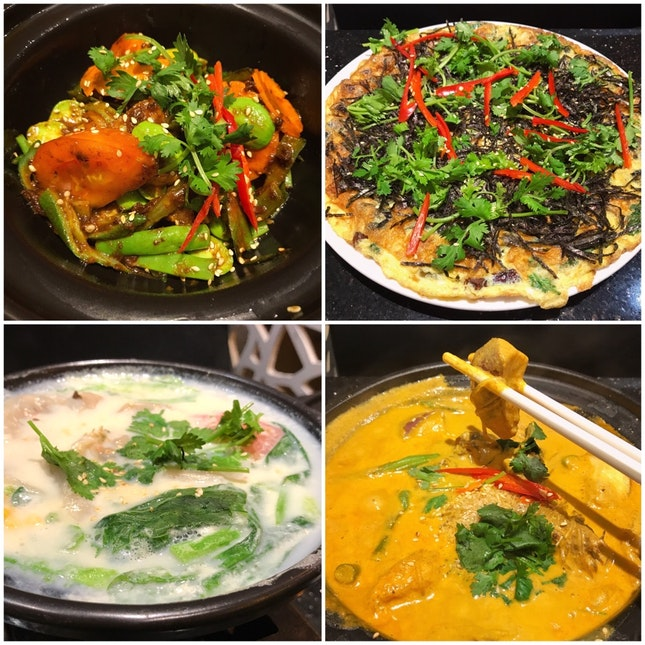 A Good Selection of Healthy Vegetarian Dishes