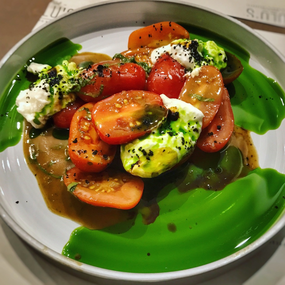 Tomatoes & Burrata (Price: $15++)