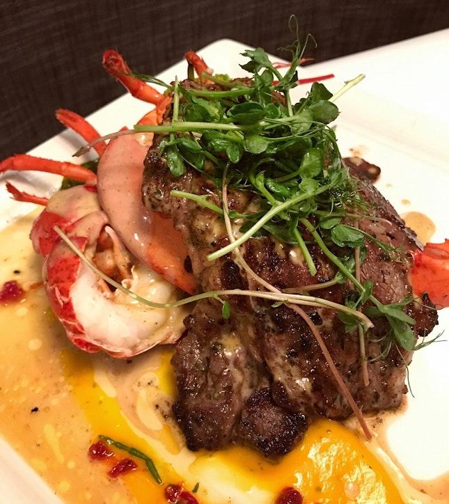 Lobster & Steak