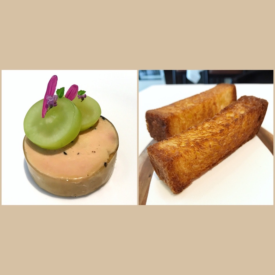From The Chef Tasting Menu: Foie Gras
