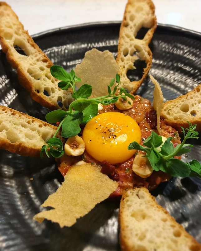Wagyu Beef Tartare - An Option For The Appetiser (Weekday Set Lunch: $46++ for 2 Courses, $60++ for 3 Courses)