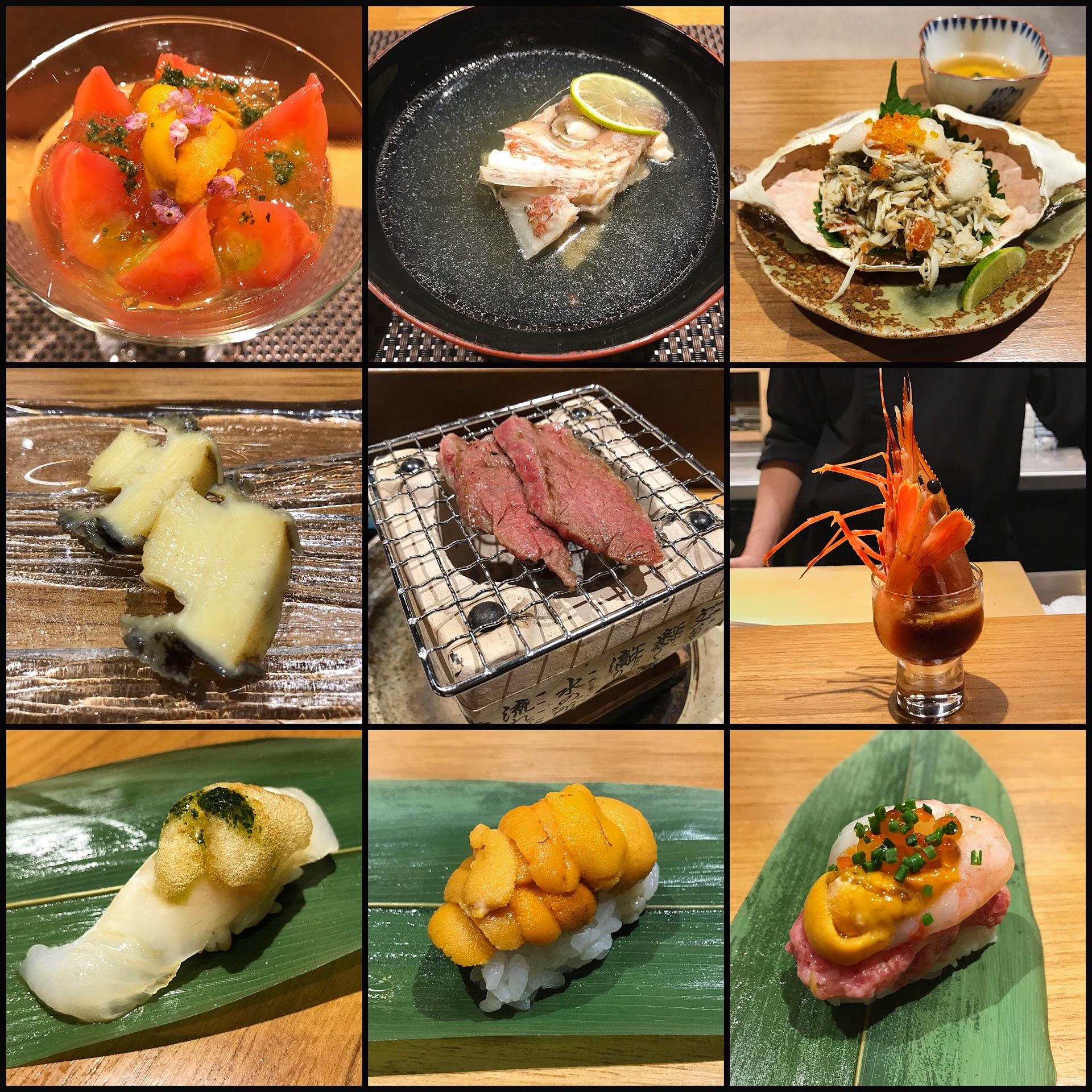 Very Indulgent Japanese Fusion Omakase Dinner ($280++)