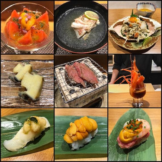 Very Indulgent Japanese Fusion Omakase Dinner ($280++)